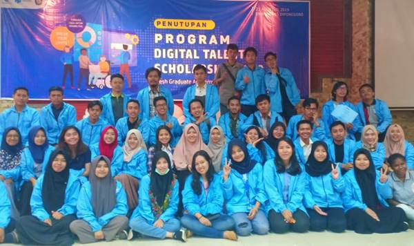 Acara Penutupan Program Fga Digital Talent Scholarship 2019 Chapter Universitas Diponegoro
