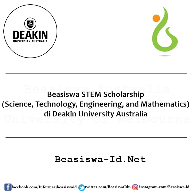Beasiswa Science, Technology, Engineering, and Mathematics di Deakin University Australia