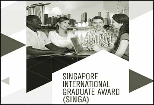 Fasilitas Dan Cara Mendaftar Singapore International Graduate Award Scholarship 1