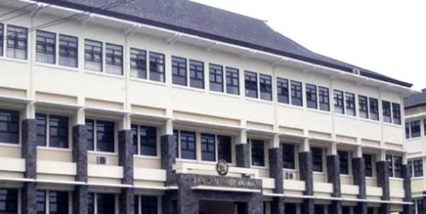 Gedung Kuliah Fmipa Di Unpad Bandung