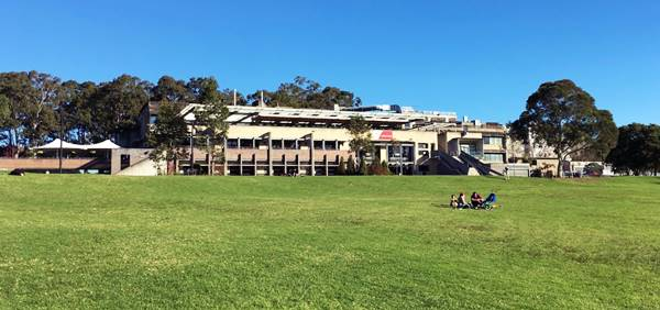 Stadion Kampus Macquarie University di Sydney Australia